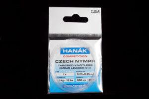 Hanak Czech Nymph Leader clear