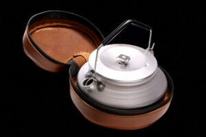 Lemmel Coffee Kettle in Leather Case