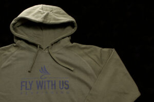 Fly With Us Hoody olive