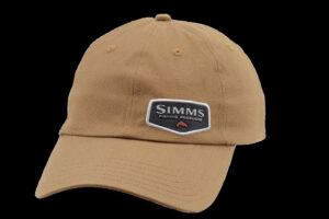 Simms Oil Cloth Cap honey brown