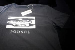 Podsol Tajga Trout T-Shirt black