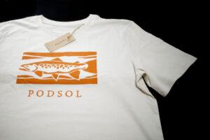 Podsol Tajga Trout T-Shirt white